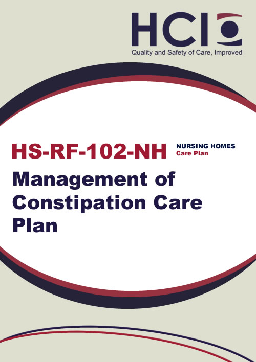 Management of Constipation Care Plan